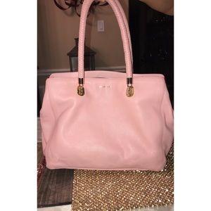 Colé Hann pink purse